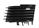 Решетка переднего бампера левая черная для Опель Вектра С Сигнум / Opel Vectra Сsignum