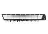 Решетка переднего бампера центральная черная для Опель Вектра С Сигнум / Opel Vectra Сsignum