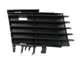 Решетка переднего бампера правая черная для Опель Вектра С Сигнум / Opel Vectra Сsignum